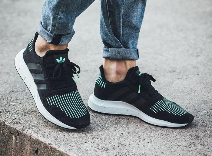 Nouvelle en présentant nouveau style de Adidas Swift Run PK Primeknit (été 2017) : où l'acheter ?