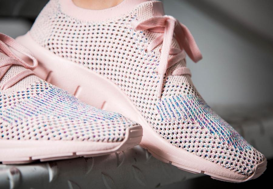 Chaussure Adidas Swift Run W femme rose Icey Pink (2)