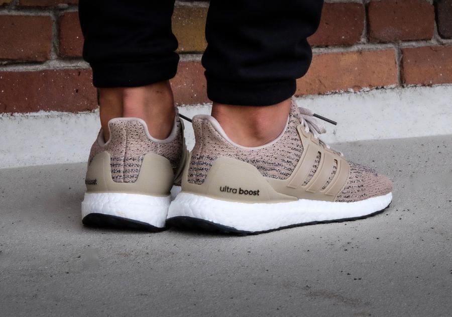 Chaussure Adidas Ultra Boost 3.0 Beige Trace Khaki (1)