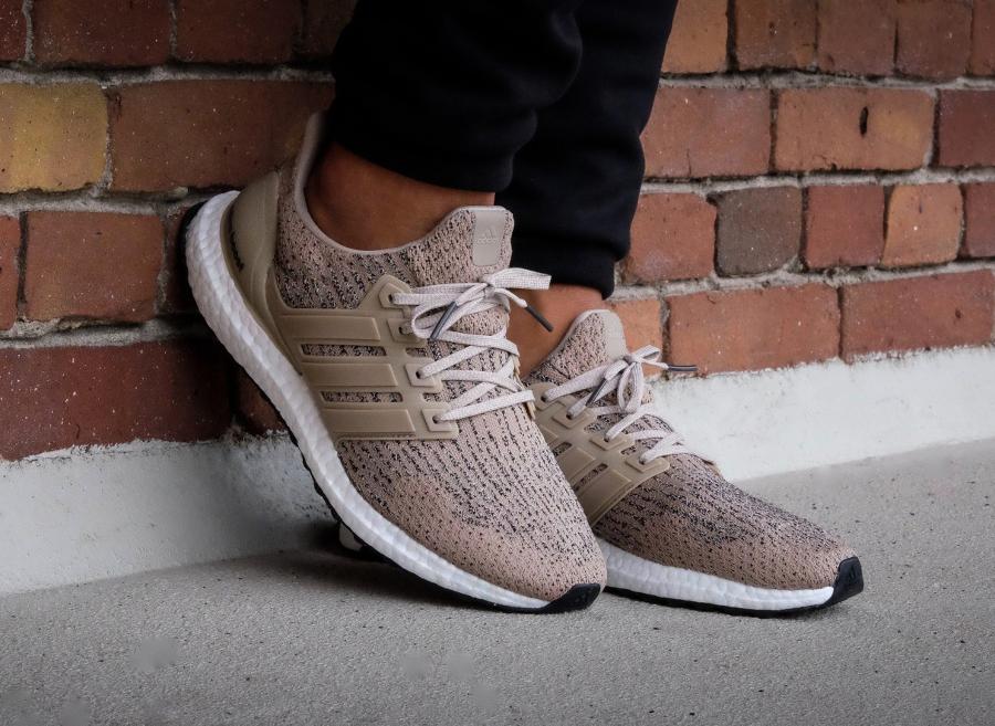 Chaussure Adidas Ultra Boost 3.0 Beige Trace Khaki (2)