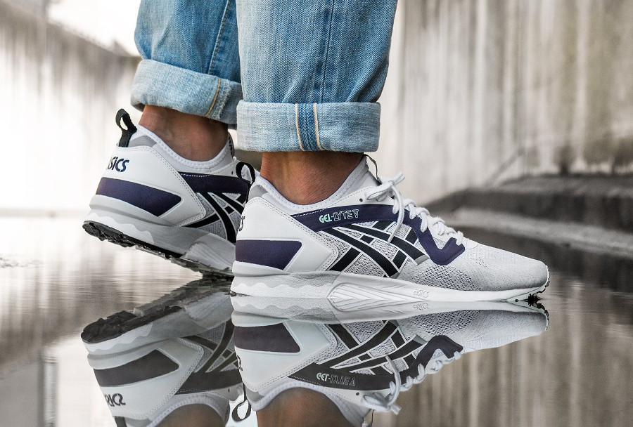 Chaussure Asics Gel Lyte V NS No Sew OG Purple (2)