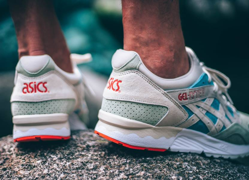 Chaussure Asics Gel Lyte V homme Reef Waters (2)
