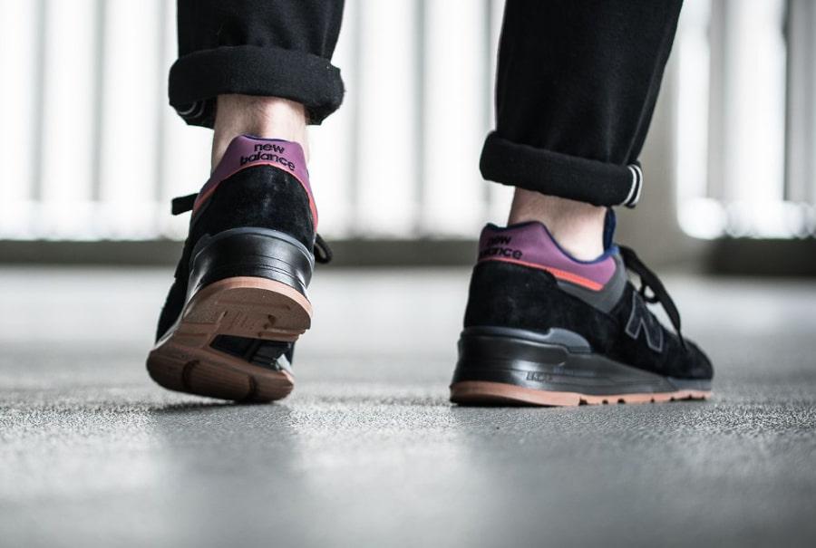 Chaussure New Balance M997CSS Black Magnet (2)