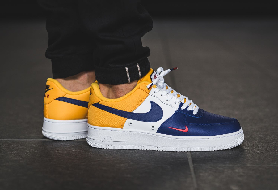 Chaussure Nike Air Force 1 Mini Swoosh FC Barcelone