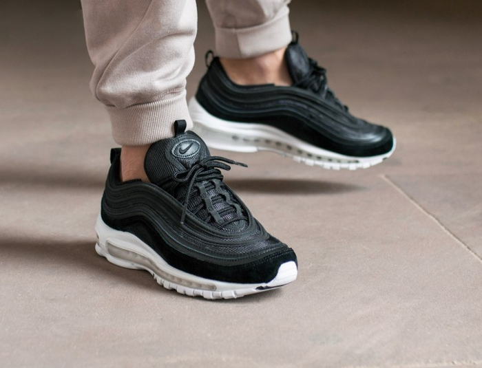 Chaussure Nike Air Max 97 Black White Animal Nocturne (2)