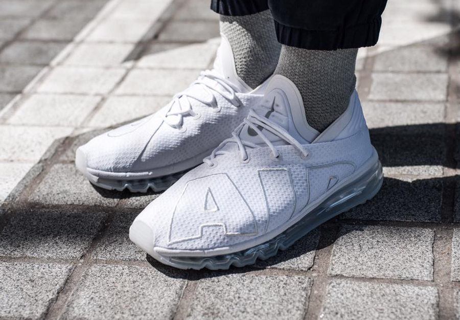 Nike Air Max Flair 'Triple White'
