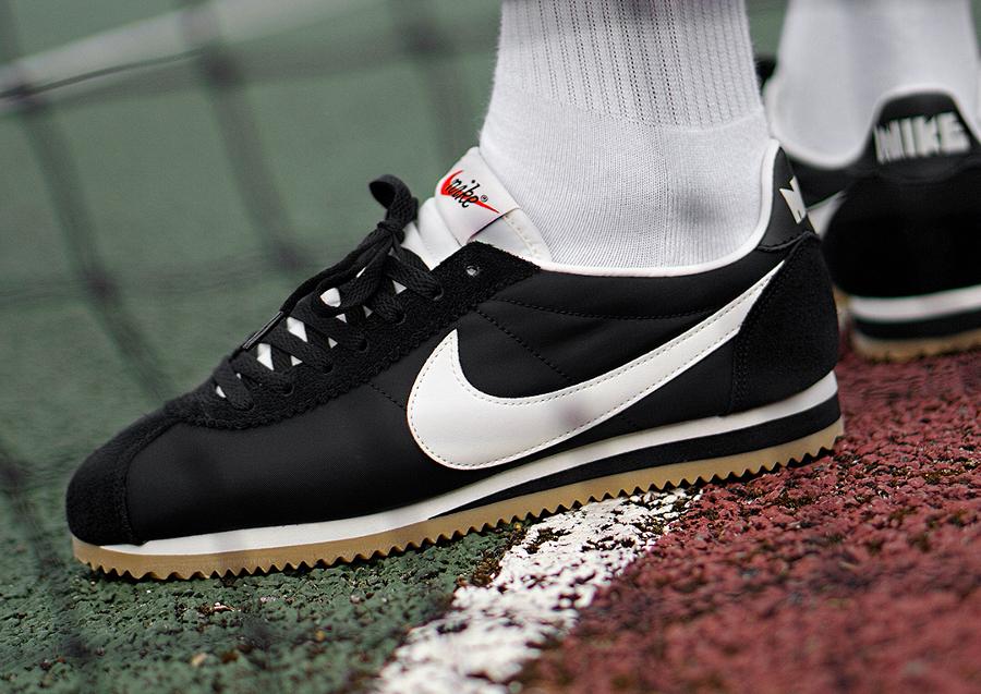 Nike Cortez Nylon Premium 'Black Gum'