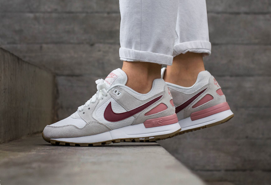 Chaussure Nike Wmns Air Pegasus 89 Red Stardust (2)