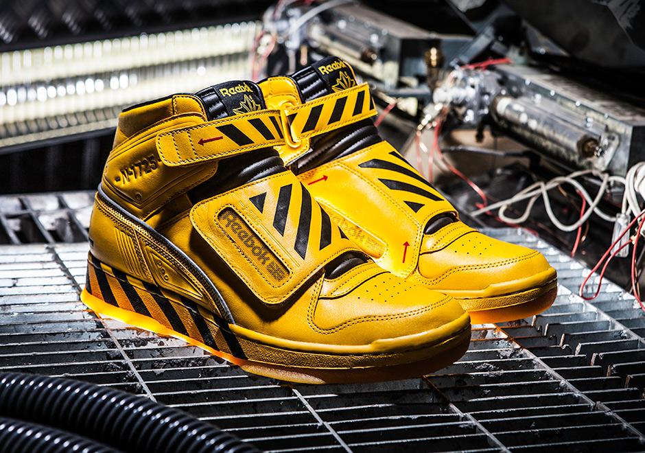 Chaussure Reebok Alien Stomper Retro Yellow (robot exosquelette) (1)