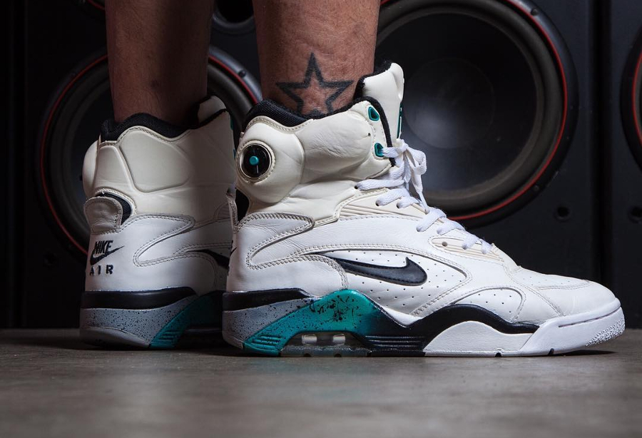 Nike Air Force 180 High Emerald 1991 - @hansdc