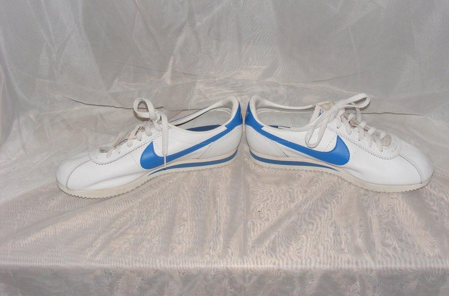 Nike Cortez Classic Leather White Blue 1983