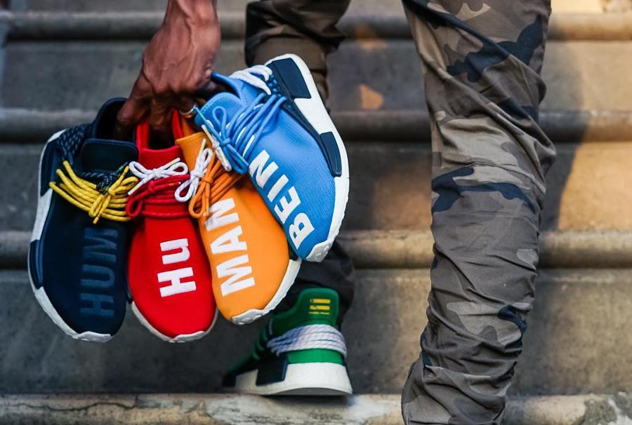 Pharrell Williams x Adidas NMD Hu (#SDJ 05072017)