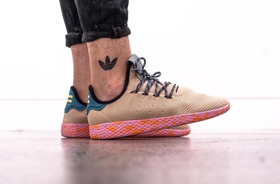 Pharrell Williams x Adidas Tennis Hu Beige - @jemuelwong