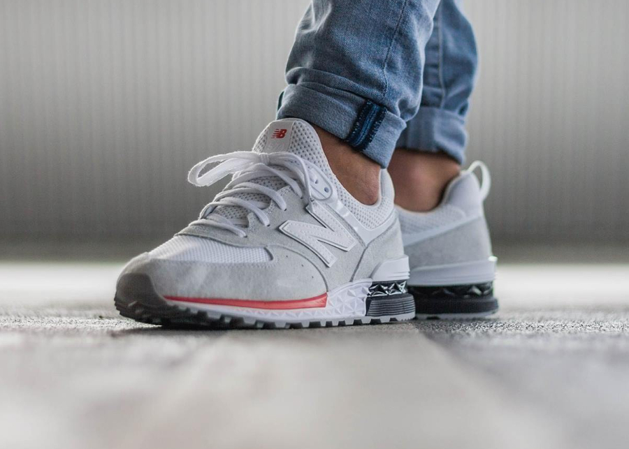 new-balance-574S-sport-MS574AW-blanche-on-feet