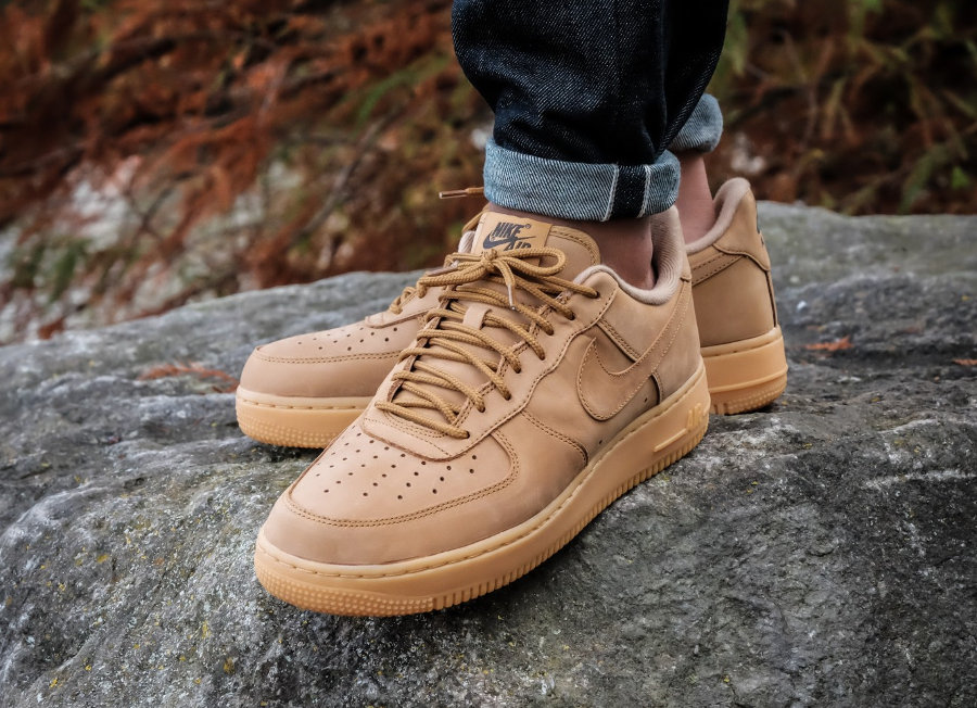 nike air force 1 low wb wheat flax pas cher
