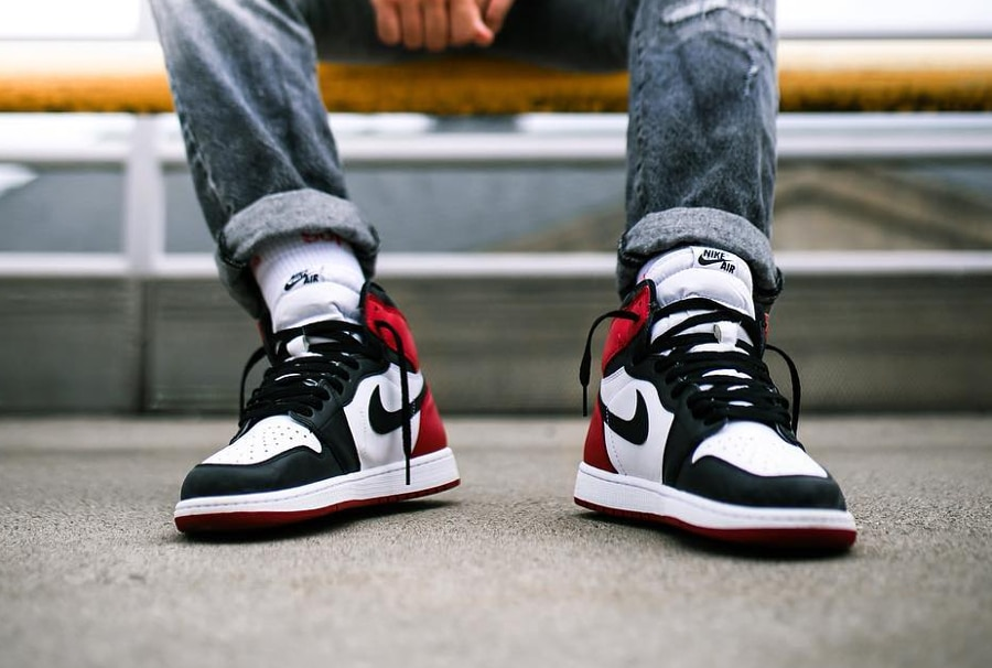 Air Jordan 1 Retro High Black Toe - @janfabrcs