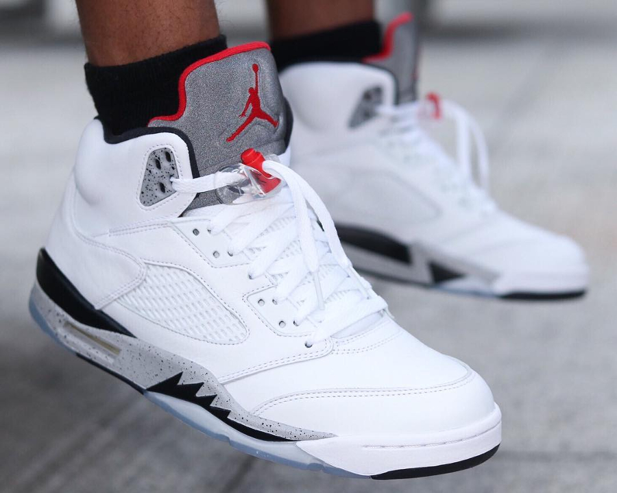 Air Jordan 5 Retro White Cement - @jacquesoles