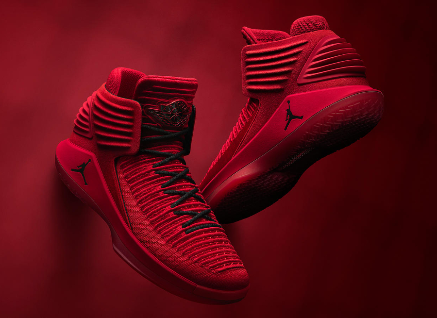 Air Jordan XXXII Rosso Corsa