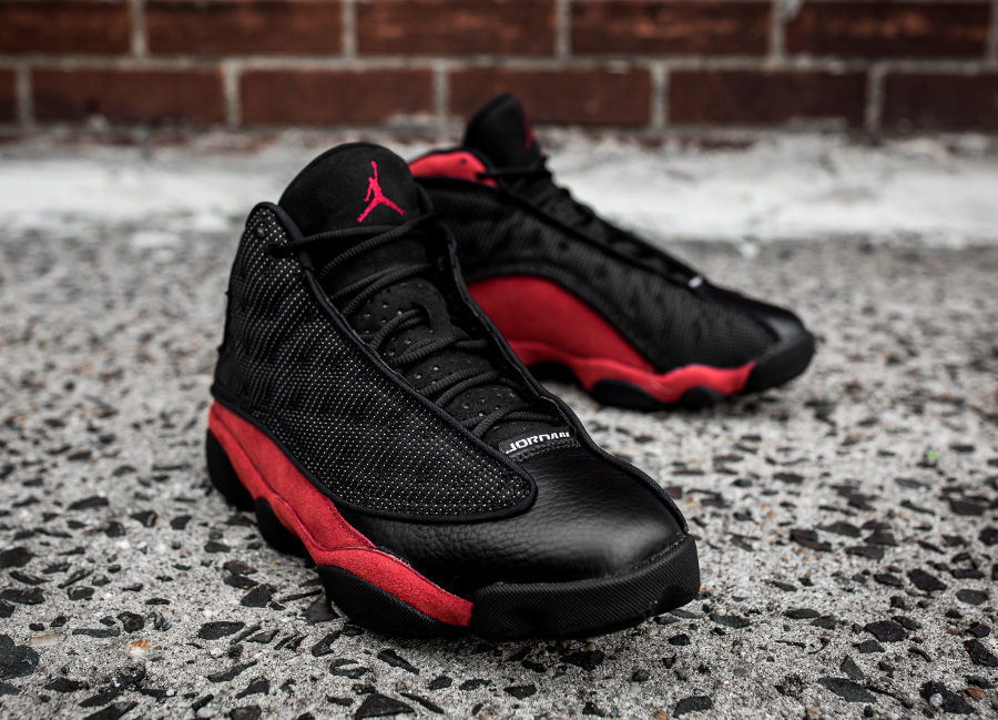 Basket Jordan13 Black True Red 2017 (1)