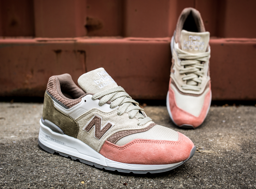 Basket New Balance M997 Coral Snake (made in USA) (1)