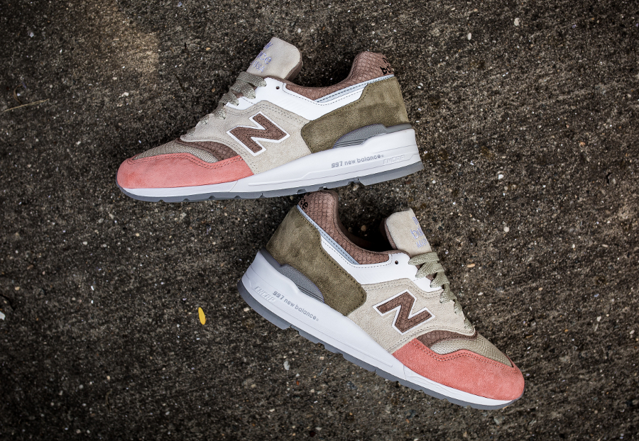 Basket New Balance M997 Coral Snake (made in USA) (2)
