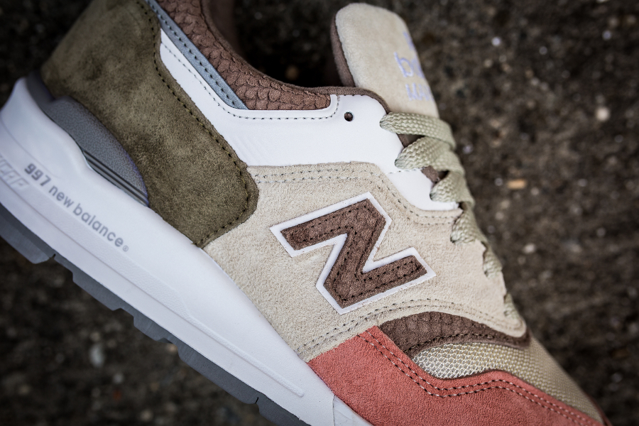 Basket New Balance M997 Coral Snake (made in USA) (3)