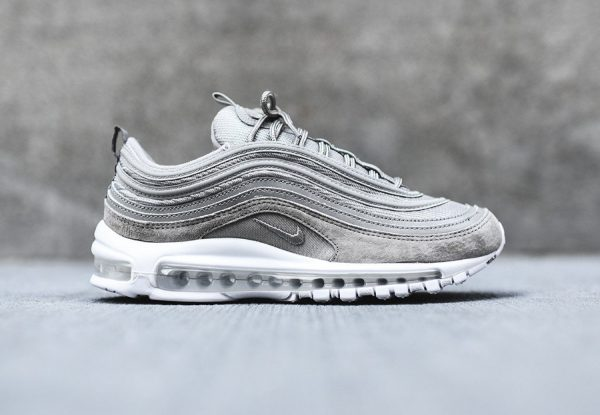 nike air max 97 grise 39 cobblestone 39 suede o l 39 acheter. Black Bedroom Furniture Sets. Home Design Ideas