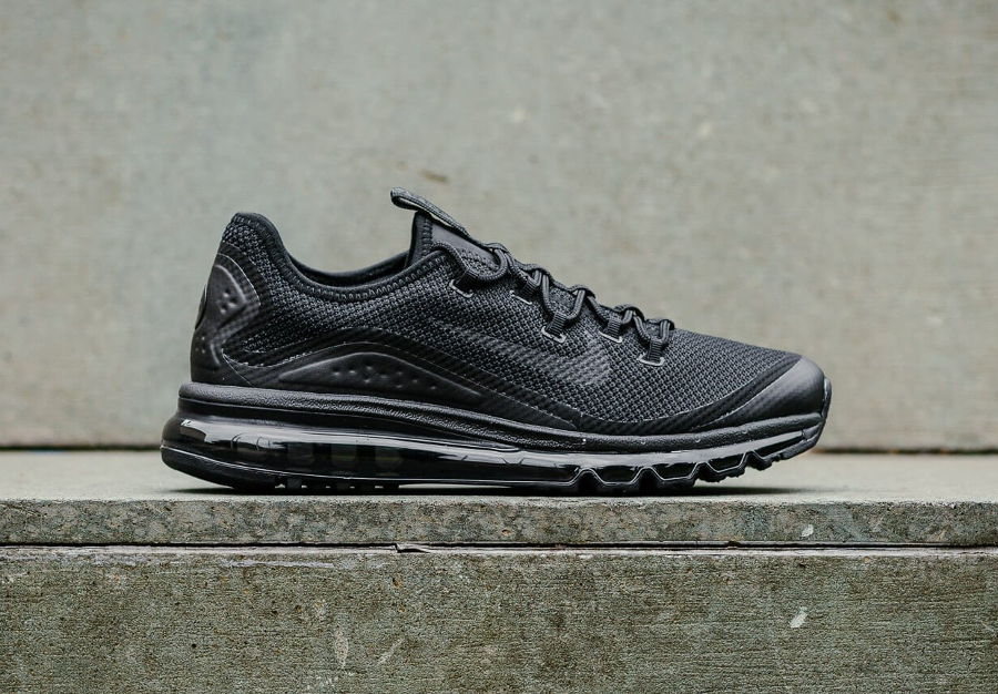 Basket Nike Air Max More Triple Black (1)