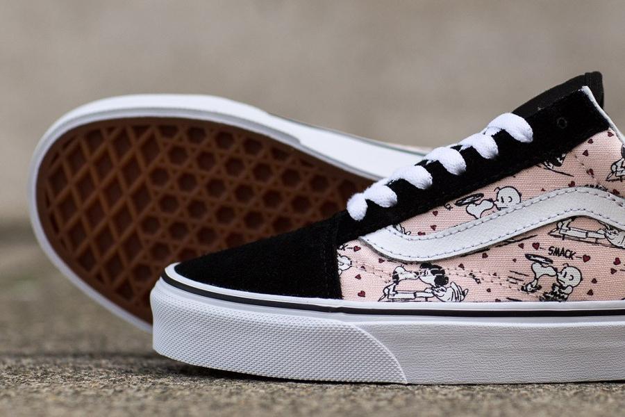 Basket Peanuts x Vans Old Skool Smack Pearl (3)