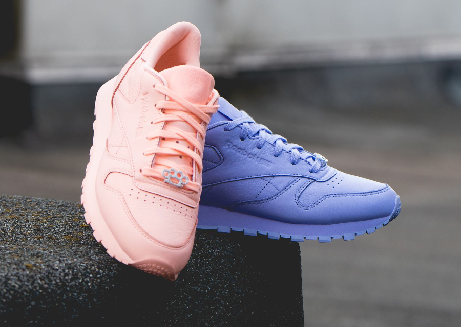 Le pack Reebok Classic Leather L 'Monochrome'
