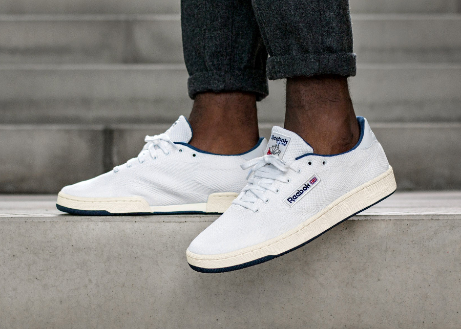 Basket Reebok Club C 85 Ultraknit Collegiate Navy (3)