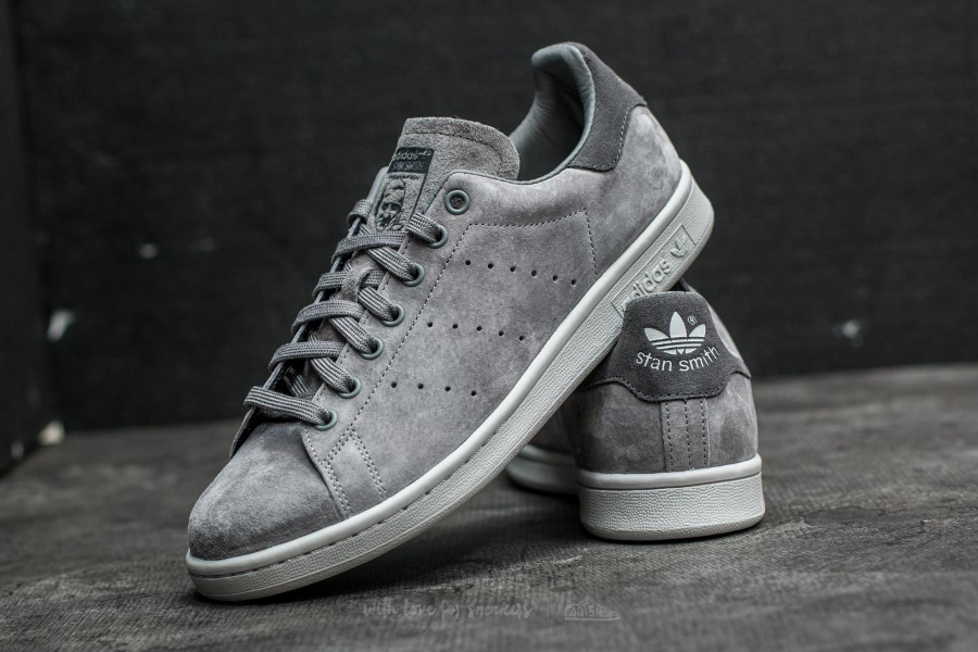 Adidas Originals Stan Smith Suede 'Grey Three'