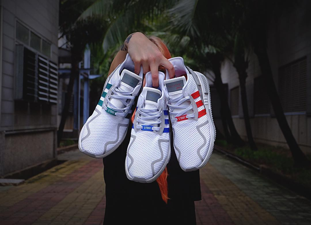 Chaussure 1991 Adidas EQT Cushion ADV 1991 Europe Asics Amérique