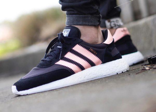 Adidas Iniki Runner W 'Black Haze Coral'