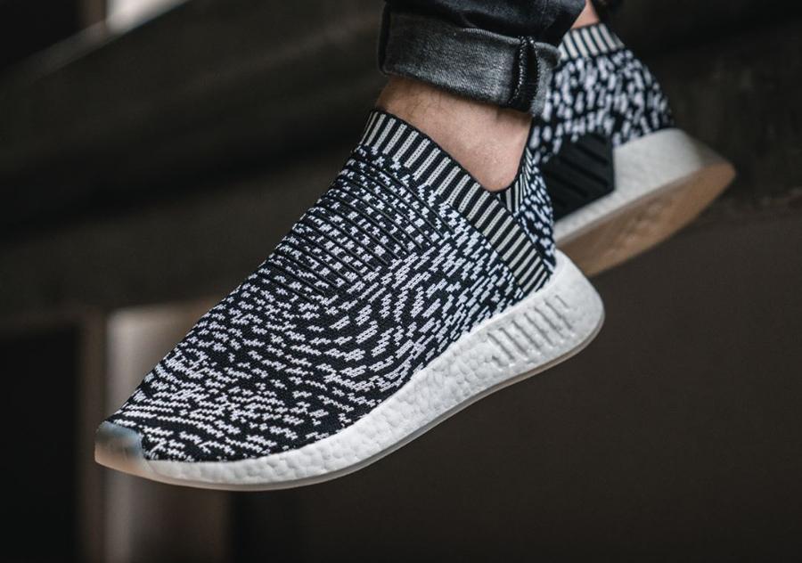 Chaussure Adidas NMD CS2 City Sock Sashiko Zebra (1)