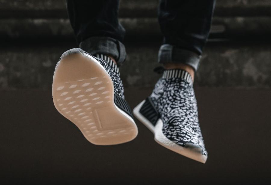 Chaussure Adidas NMD CS2 City Sock Sashiko Zebra (3)
