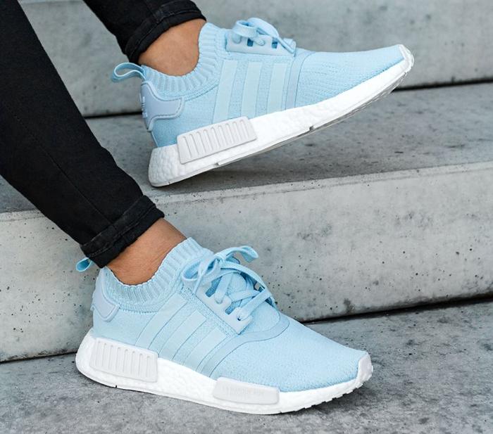 Adidas NMD Original Blanche Ciel Bleu