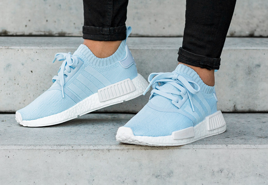 adidas nmd r1 primeknit - femme chaussures