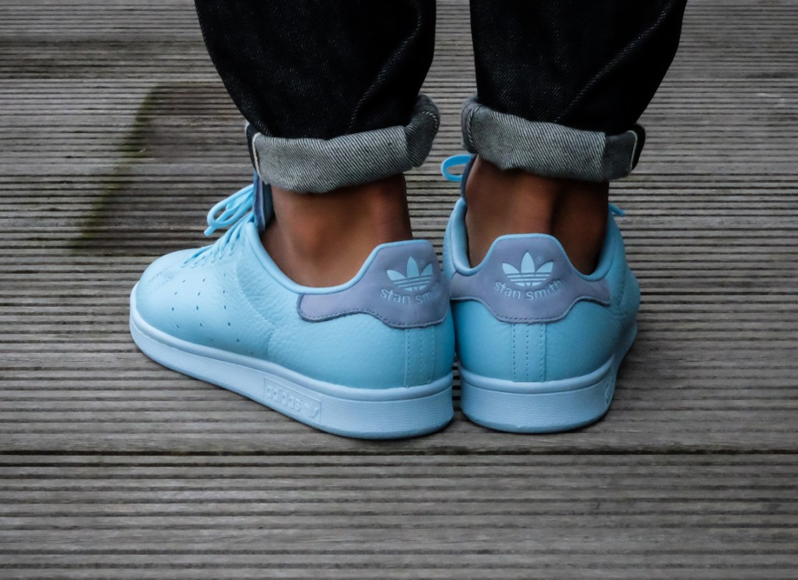 Chaussure Adidas Originals Stan Smith Pastels Icey Blue (1)