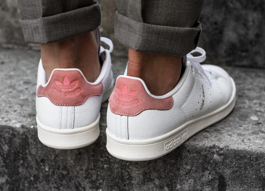 Chaussure Adidas Originals Stan Smith Pastels Raw Pink (1)