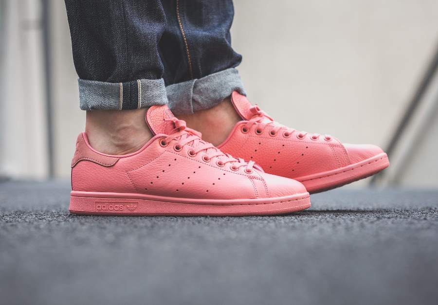 Chaussure Adidas Originals Stan Smith Pastels Tactile Rose (2)