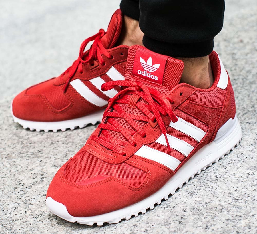 Chaussure Adidas ZX 700 Tactile Red homme (2)