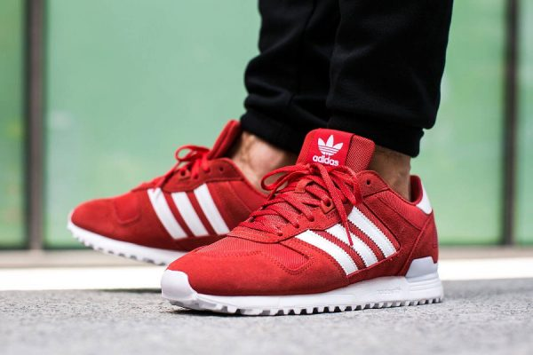 adidas zx 700 rouge homme