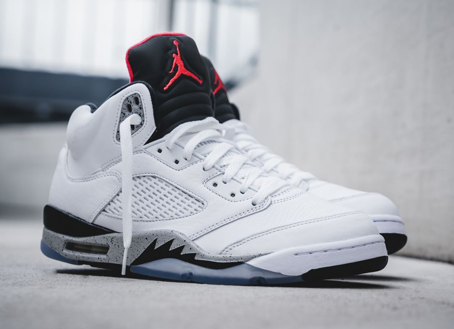 Air Jordan V Retro 'White Cement'