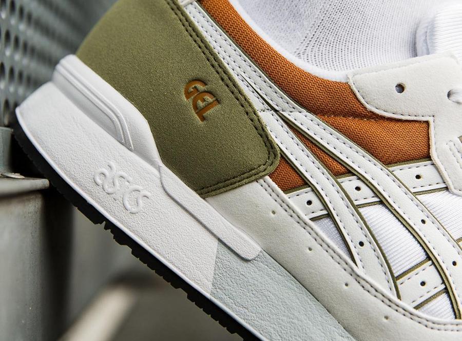 Chaussure Asics Gel Lyte OG White Aloe (blanche et verte) (3)