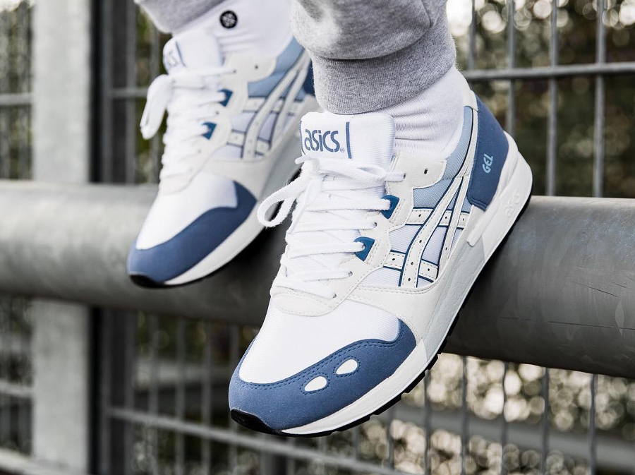 Asics Tiger Gel Lyte chaussures pigeon blue/white
