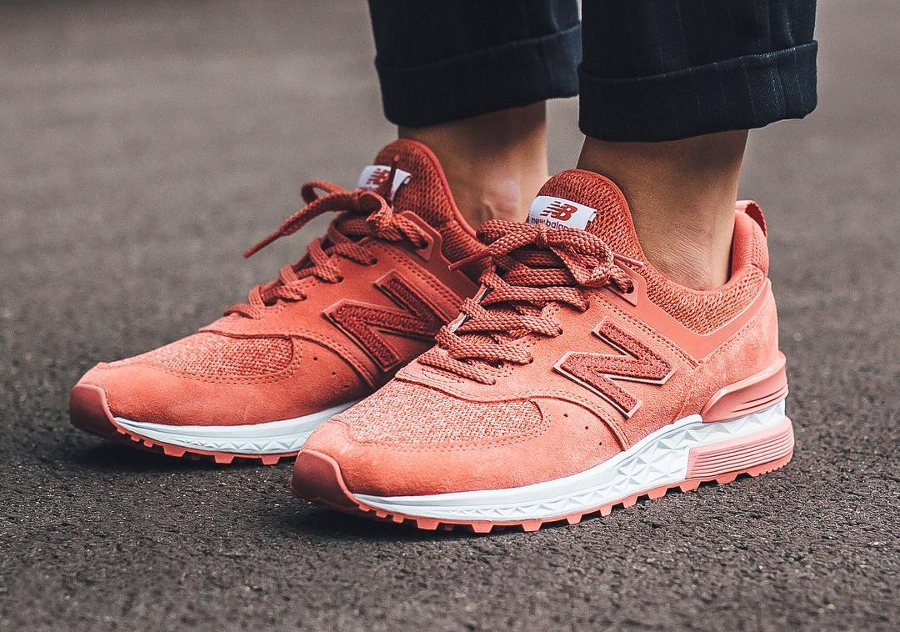 New Balance 574S 'Copper Rose'