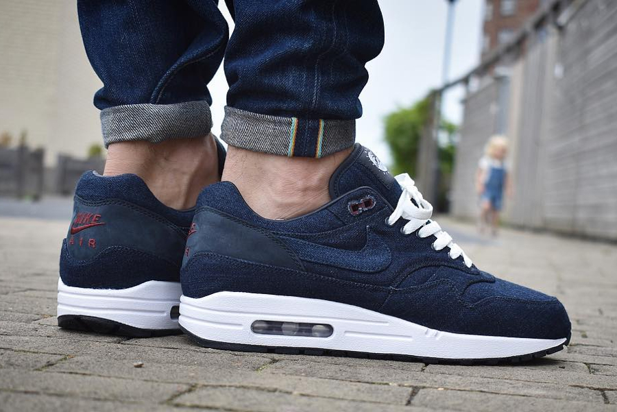 Nike Air Max 1 ID Denim 'Indigo Nowaki'