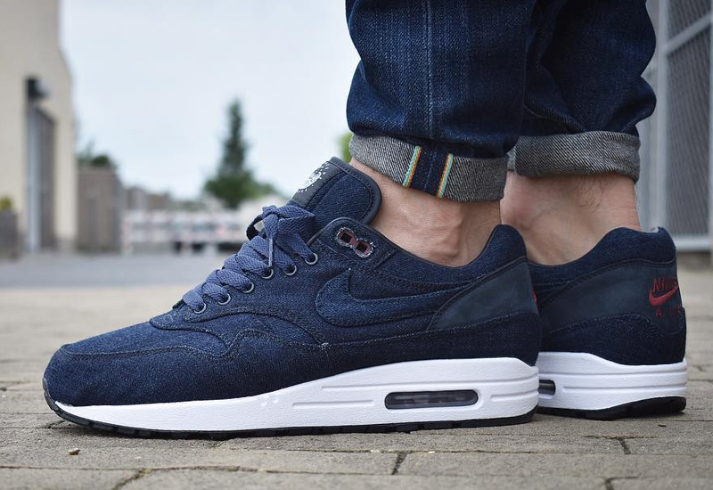 nike air max 1 id denim 39 indigo nowaki 39. Black Bedroom Furniture Sets. Home Design Ideas