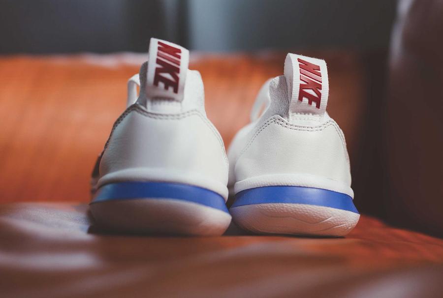 Chaussure Nike Cortez Flyknit OG White Varsity Red (2)